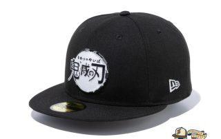 Demon Slayer Kimetsu No Yaiba 59Fifty Fitted Hat Collection by Demon Boy Kimetsu No Yaiba x New Era
