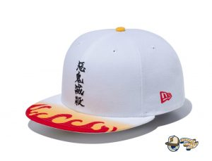 Demon Slayer Kimetsu No Yaiba 59Fifty Fitted Hat Collection by Demon Boy Kimetsu No Yaiba x New Era Left