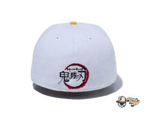 Demon Slayer Kimetsu No Yaiba 59Fifty Fitted Hat Collection by Demon Boy Kimetsu No Yaiba x New Era White
