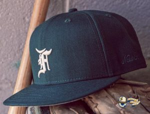 Fear Of God Essential 2021 59Fifty Fitted Hat Collection by Fear Of God x MLB x New Era Black
