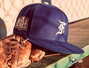 Fear Of God Essential 2021 59Fifty Fitted Hat Collection by Fear Of God x MLB x New Era Navy