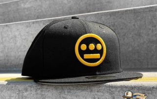 Hiero Black Yellow 59Fifty Fitted Hat by Hieroglyphics x New Era