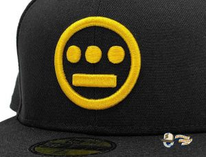 Hiero Black Yellow 59Fifty Fitted Hat by Hieroglyphics x New Era Zoom