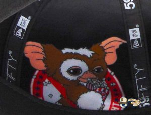 JustFitteds Exclusive Gremlins Black 59Fifty Fitted Hat by Gremlins x New Era Interior