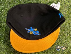 Kawamoto Samurai V2 Shock Troop 59Fifty Fitted Hat by The Capologists x New Era Bottom