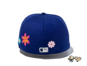 MLB Chain Stitch Floral 59Fifty Fitted Hat Collection by MLB x New Era Back