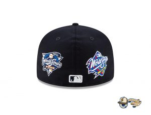 MLB Derek Jeter New York Yankees Tribute 59Fifty Fitted Hat Collection by MLB x New Era Back