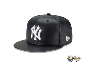 MLB Derek Jeter New York Yankees Tribute 59Fifty Fitted Hat Collection by MLB x New Era Leather