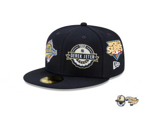 MLB Derek Jeter New York Yankees Tribute 59Fifty Fitted Hat Collection by MLB x New Era Left