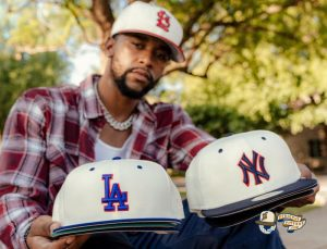 MLB Ivory 59Fifty Fitted Hat Collection by MLB x New Era