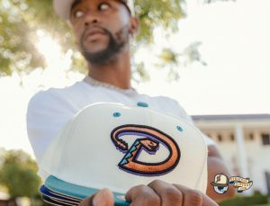 MLB Ivory 59Fifty Fitted Hat Collection by MLB x New Era Zoom