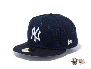 MLB Swirl 59Fifty Fitted Hat Collection by MLB x New Era Left