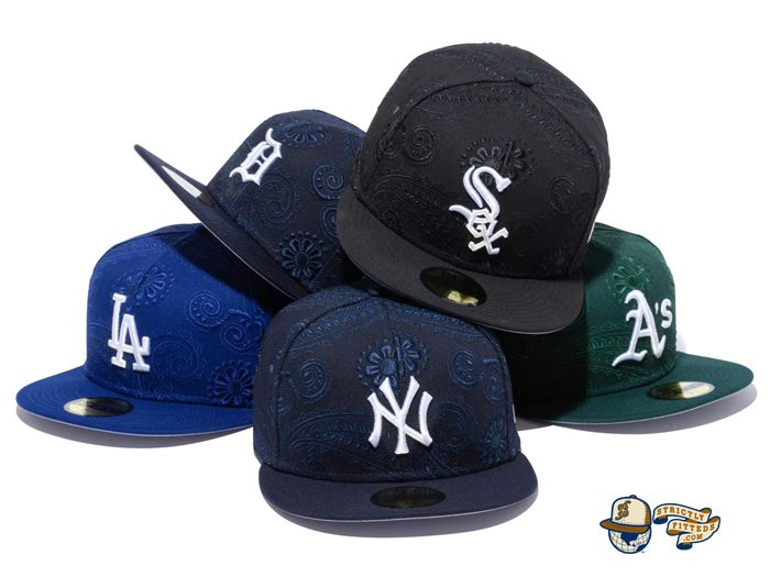 MLB Swirl 59Fifty Fitted Hat Collection by MLB x New Era