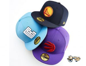 NBA Color Originals 59Fifty Fitted Hat Collection by NBA x New Era