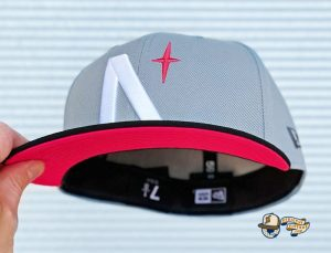 North Star Grey Black Infrared 59Fifty Fitted Hat by Noble North x New Era Front