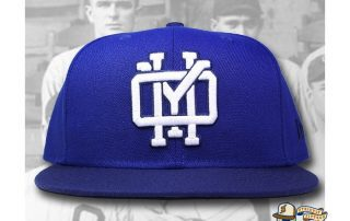 OYH Monogram Royal Blue 59Fifty Fitted Hat by Over Your Head x New Era