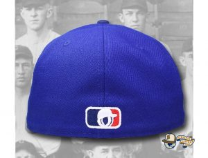 OYH Monogram Royal Blue 59Fifty Fitted Hat by Over Your Head x New Era Back