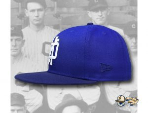 OYH Monogram Royal Blue 59Fifty Fitted Hat by Over Your Head x New Era Left