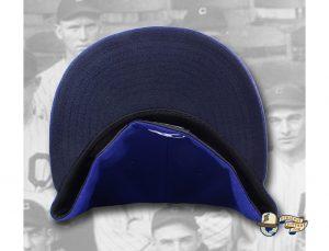 OYH Monogram Royal Blue 59Fifty Fitted Hat by Over Your Head x New Era Undervisor