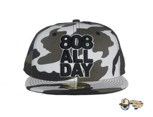 Stack Urban Camo 59Fifty Fitted Hat by 808allday x New Era Front