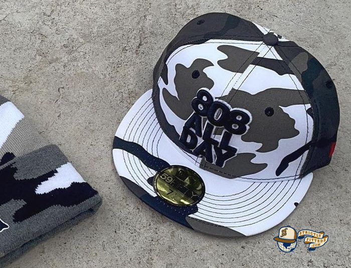 Stack Urban Camo 59Fifty Fitted Hat by 808allday x New Era