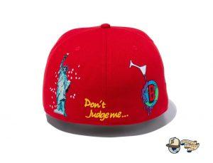 Ballistik Boyz 59Fifty Fitted Hat by Exile Tribe x New Era Back
