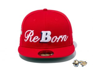 Ballistik Boyz 59Fifty Fitted Hat by Exile Tribe x New Era Red