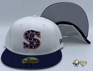 Chicago White Sox 1917 Cooperstown Wool 59Fifty Fitted Hat by MLB x New Era