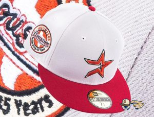 Hat Club Exclusive MLB Anniversary Pack September 2021 59Fifty Fitted Hat Collection by MLB x New Era Astros