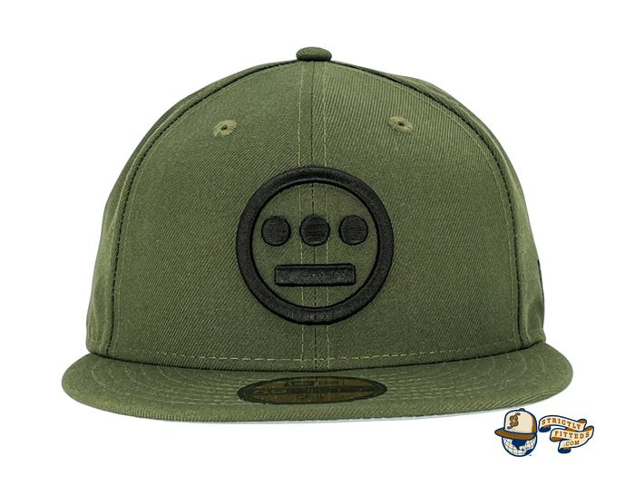 Hiero Rifle Green Black 59Fifty Fitted Hat by Hieroglyphics x New Era