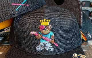 JustFitteds Exclusive Berlin Bear Flamingo Edition 59Fifty Fitted Hat by JustFitteds x New Era