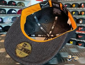 JustFitteds Exclusive Berlin Bear Flamingo Edition 59Fifty Fitted Hat by JustFitteds x New Era Bottom