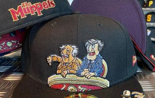 JustFitteds Exclusive The Muppets Waldorf And Statler 59Fifty Fitted Hat by The Muppets x New Era