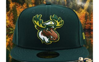 Lake Captain's Dark Green 59Fifty Fitted Hat by Noble North x New Era