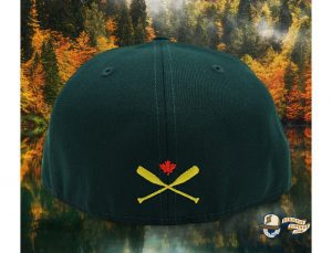 Lake Captain's Dark Green 59Fifty Fitted Hat by Noble North x New Era Back