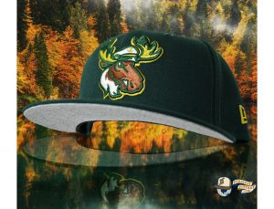 Lake Captain's Dark Green 59Fifty Fitted Hat by Noble North x New Era Front
