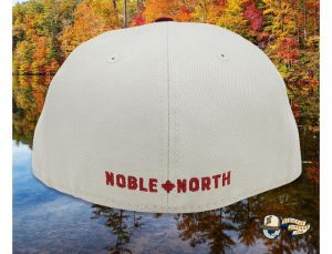 Lake Paddles Stone Cardinal 59Fifty Fitted Cap by Noble North x New Era Back