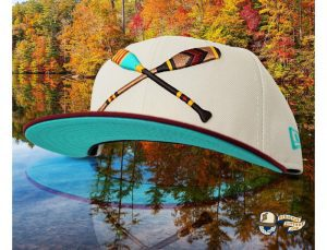 Lake Paddles Stone Cardinal 59Fifty Fitted Cap by Noble North x New Era Front