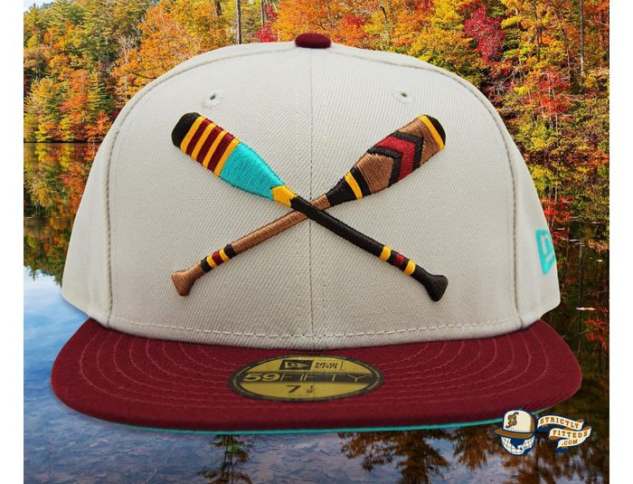 Lake Paddles Stone Cardinal 59Fifty Fitted Cap by Noble North x New Era