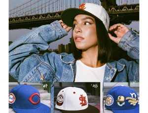 MLB ASG Decades 30s And 40s 59Fifty Fitted Hat Collection by MLB x New Era Left