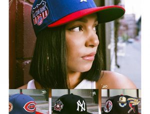 MLB ASG Decades 30s And 40s 59Fifty Fitted Hat Collection by MLB x New Era Patch