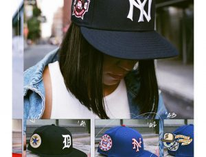 MLB ASG Decades 30s And 40s 59Fifty Fitted Hat Collection by MLB x New Era Right