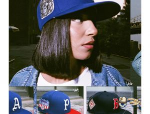MLB ASG Decades 30s And 40s 59Fifty Fitted Hat Collection by MLB x New Era Side