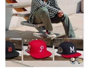 MLB ASG Decades 50s 59Fifty Fitted Hat Collection by MLB x New Era Patch