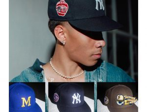 MLB ASG Decades 70s 59Fifty Fitted Hat Collection by MLB x New Era Patch