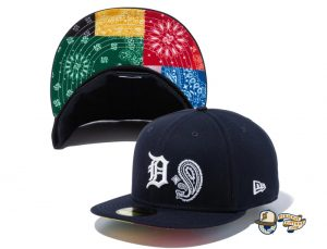 MLB Patchwork Undervisor 59Fifty Fitted Hat Collection by MLB x New Era Left