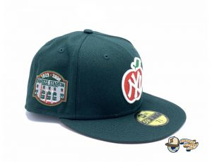 New York Yankees Apple Dark Green 59Fifty Fitted Hat by MLB x New Era Right