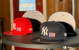 New York Yankees Puerto Rico 59Fifty Fitted Hat by MLB x New Era