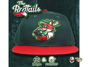 The Redtails 59Fifty Fitted Hat by Over Your Head x New Era