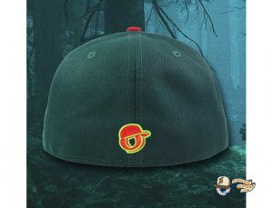 The Redtails 59Fifty Fitted Hat by Over Your Head x New Era Back